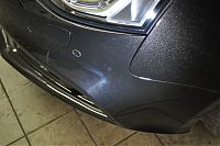 burn marks plus scratches on front bumper