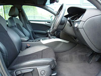 Audi A4 interior - after detailing