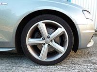 Audi A4 wheel - before detailing