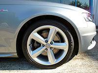 Audi A4 wheel - after detailing