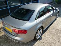 Audi A4 - finished detailing