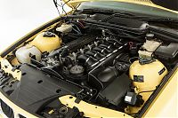 BMW E36 M3 - engine bay