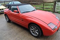 BMW Z1 before detailing again