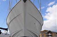 50/50 of boat hull
