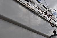 hull during polishing