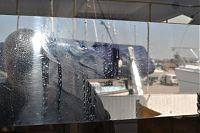 chrome rear sliding doors before detailing
