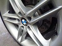 BMW Z4 wheel - after detailing