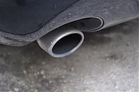 exhaust tip before detailing