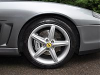 Ferrari 575 - front side wing after