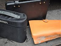 Ferrari 575 - luggage before with mould and mildew