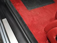 Ferrari 575 - door trims/rubbers cleaned and treated