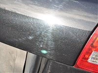 Audi RS6 - boot lid before